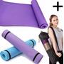 Mat Yoga Colchoneta Fitness Gimnasia Eva Grande 6mm + Bolso