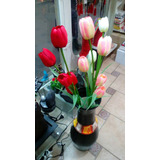 Tulipanes Flores Artificiales