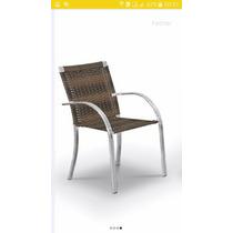 Cadeira Cravo Em Alumínio E Fibra Sintética