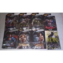 Coleção Completa 08 Carrinhos (batman Vs Superman)