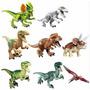 Kit 8 Jurassic World Indominus Lego T Rex Dinossauros Park