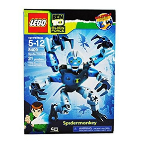 Juguete Lego Ben 10 Alien Force Series 8 Inch Tall Action F