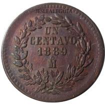 1 Centavo Juárez 1889 Mo - México - República Mexicana Bu