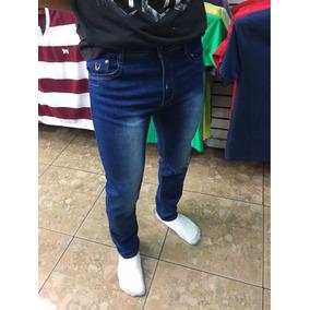 Pantalon Jeans De Niño Marca Pitbull Stretch Skinny