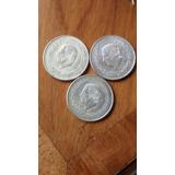 Moneda 5 Pesos Hidalgo Plata Ley 720 Años 1951,52 Y 5e