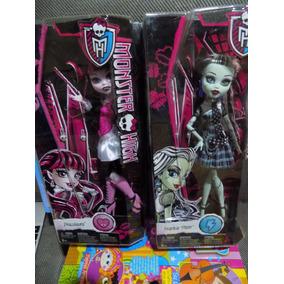 Monster High Draculaura Y Frankie Primera Edicion 2014