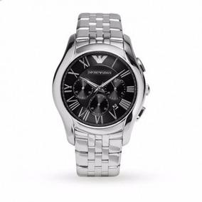 77f62126ffe Relógio Empório Armani Ar1786 Aço Prata Preto R66
