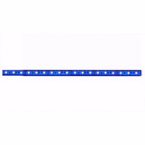 Fita Led 30cm Para Gabinete - Azul C Conector Molex P/ Fonte