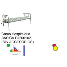 Cama Hospitalaria Basica Fija Sin Accesorios, Sin Colchon