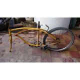 Bicicleta Playera Rod 24 Cuadro + Rueda Manubrio Etc