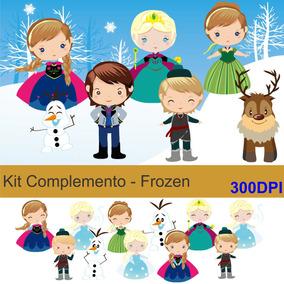 Complemento Kit Scrapbook - Frozen
