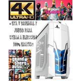 Pc Gamer Rx 580 8gb Ssd 240gb + Hdd 3 Tb I7 R. Liquida!