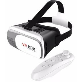Óculos Vr Box 2.0 Realidade Virtual 3d Android Ios Windows