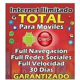 Internet Ilimitado Claro Y Avantel Por 1,3,6,12 Meses Garant