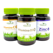Vitamina C, Vitamina D3 Y Zinc Vidanat Naturagel