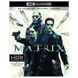 Blu Ray 4k Ultra Hd Matrix Dublado/legendado