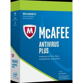 Antivirus Mcafee Plus 2017 Licencia Original