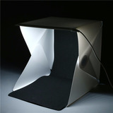 Estudio Portatil Cabina Fotografica Profesional Plegable Led
