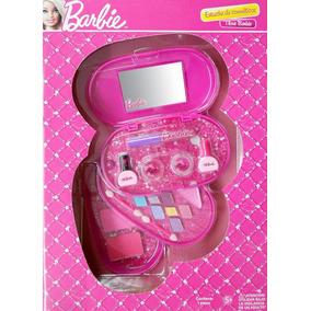 Estuche De Cosmeticos Para Nina En Caja Barbie Minnie