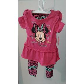 Vestido Niña Minnie Mouse Talla 5 Años