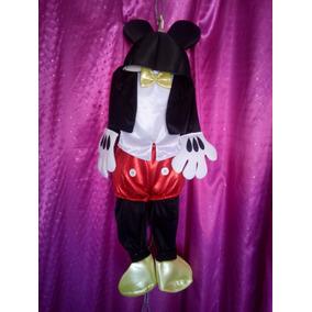 Disfraz Mickey Mouse Gala Con Accesorios