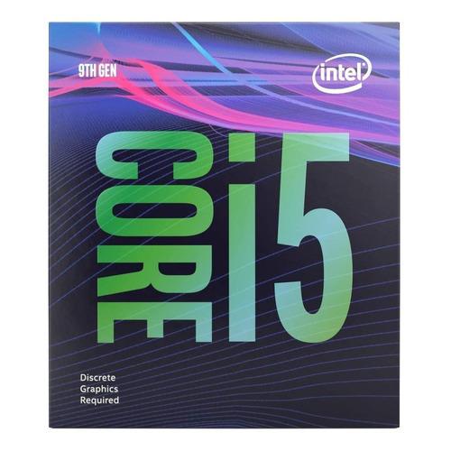 Processador gamer Intel Core i5-9400F BX80684I59400F de 6 núcleos e 2.9GHz de frequência