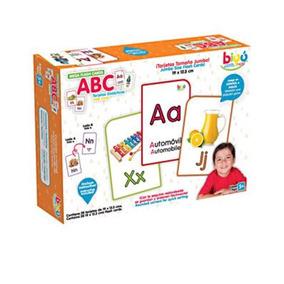 Flash Cards Abc Juguete Educativo Tarjetas Didácticas