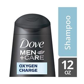 Dove Men + Care Shampoo, Carga De Oxígeno De 12 Onzas