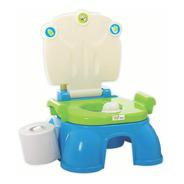 Pelela Adaptador Inodoro Ok Baby Niños 3 En 1 Mi Cielo Azul