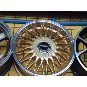 Roda 18 Bbs Balina Dourada 4x100/5x100 Gol Golf Audi Saveiro
