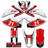 Adesivo Moto Crf 230 Crf03 2008 A 2014 Personalizado