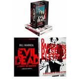 Box Livro Terror Vhs: Evil Dead+o Massacre Da Serra Elétrica