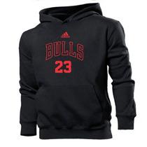 Moletom Chicago Bulls Nba Basquete Blusa Moleton Casaco Frio