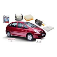 Kit 4 Filtros Orig + Aceite Citroen Xsara Picasso 1.6 Nafta