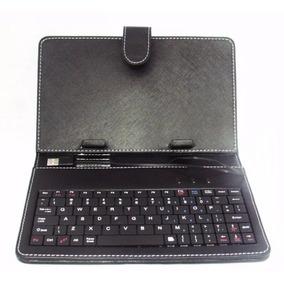 Capa Case Com Teclado Usb Universal Para Tablet 7 Polegadas