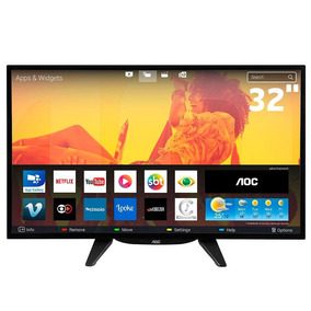 Smart Tv Led 32 Polegadas Aoc Le32s5970 Hd Wi-fi Hdmi Usb Bo