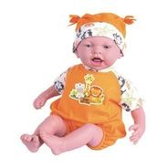 Boneca Dolls Collection Reborn Laranja - 459