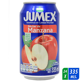 Nectar Jumex Manzana Lata 335 Ml 24 Uni.