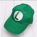 Super Mario Bros - Gorra De Luigi