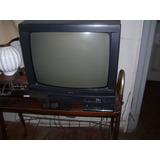 Tv21 Color Sanyo Usado C/2controles Deco-mb Estado Subasta