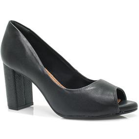 Sapato Ramarim Peep Toe (original + Nfe)   Betisa