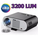 Proyector Led Cañon Hd Tv 3200 Lum / Zona Zoo Un Cine !!