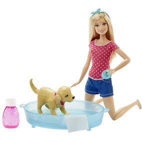 Barbie Bano De Perritos