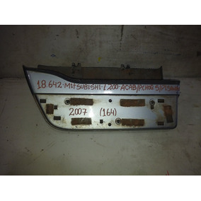Friso Lateral Mitsubish L200 Acab.pchoq S/pis2008(164)18.642