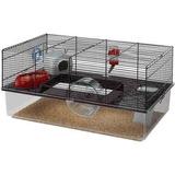 Jaula De Hamster Ferplast, Negro