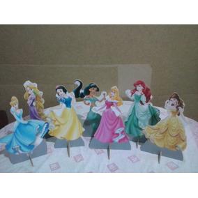 Princesas Disney Cenario De Mesa,display,festa Infantil,mdf