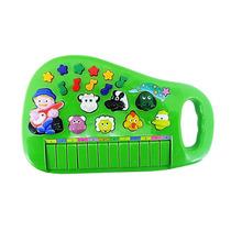 Piano Teclado Musical Bichos Infantil Sons Eletrônico