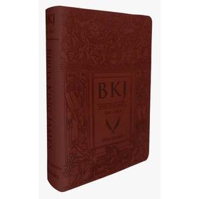 Bíblia King James Fiel 1611 Letra Ultra Gigante Marrom