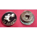 Antiguo Pin Distintivo Diario La Gaceta De Tucuman 1960s