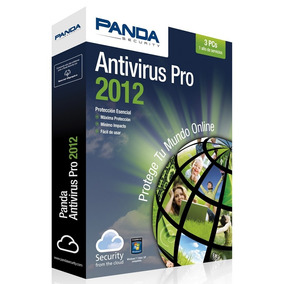 Lic Panda Antivirus Pro 2011/2012 P 1 Pc